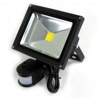 Lux.pro 10 WattLED Strahler mit Bewegungsmelder